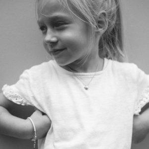 Mädchen-stern-silber-brilliant-Bindung-sohn-tochter-hochwertig-nachhaltig-kinderschmuck